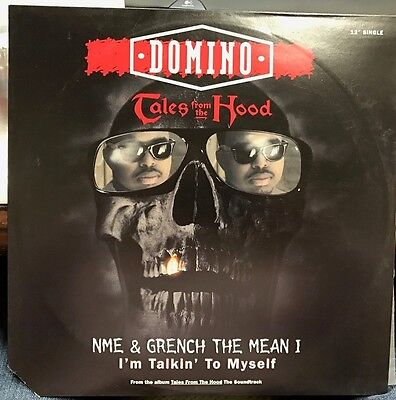 "Domino Tales From The Hood Nme & Grench I'm Talking 12"" 1995 Mca 55039 Dj Copy"