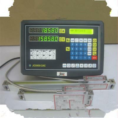 3 Axis Digital Display Readout Dro And 3 Linear Scale For Mill Lathe Machine U