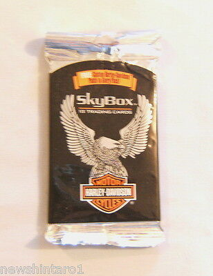 #d30. Unopened Packet Of 1994 Harley Davidson  Motor Cycle Cards