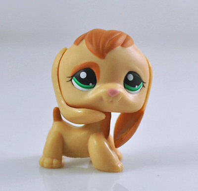 Pet Beagle Puppy Dog Child Girl Boy Figure Littlest Toy Loose Cute LPS969