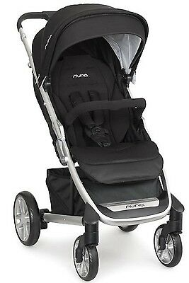Nuna Baby Tavo Super Convenient Single Stroller Caviar NEW 2017
