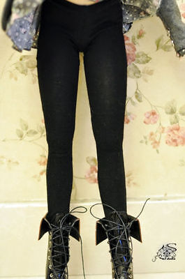 Black Opaque Tights panty-hose Pants/Stockings/Clothes for 1/3 1/4 1/6 BJD Doll