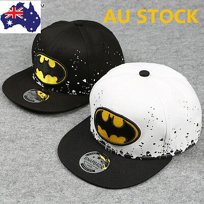Kids Child Cartoon Caps Snapback Caps Baseball Embroidery Spiderman Batman Hats