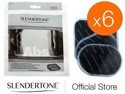 6 MONTH SUPPLY OF SLENDERTONE ABS PADS - all Slendertone Abs Belts (6 packs)