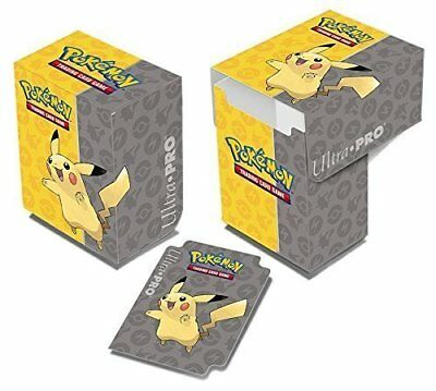 "Pokemon Trading Card Game ""pikachu Deck Box"" (Ultra Pro)"