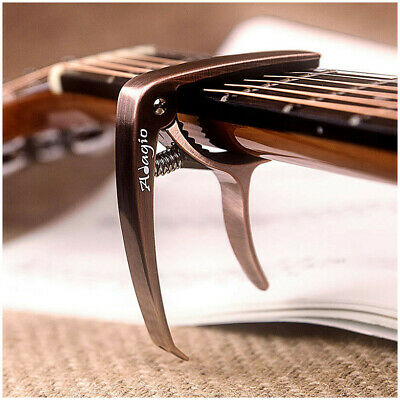 CAPO – For Acoustic, electric, 12 string and classical guitars + banjo, bass BRN