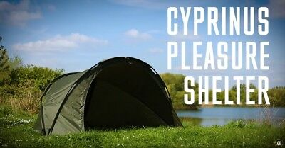 Cyprinus Pleasure Dome Day Shelter Bivvy tent 1 man for Carp Coarse Fishing