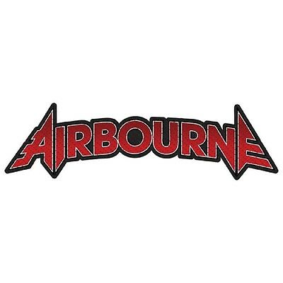 AIRBOURNE - Aufnäher Patch Logo cut out