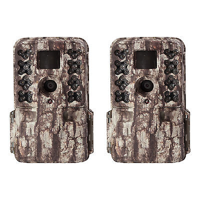 Moultrie M-40 16MP 80' FHD Video Infrared Game Trail Camera, 2 Pack | MCG-13181
