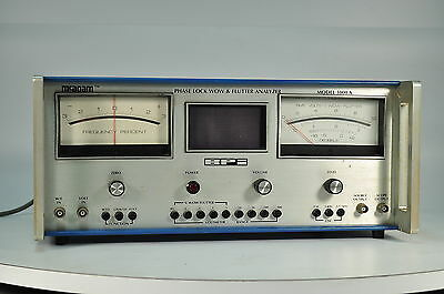 BPI 1000A Phase Lock Wow and Flutter Analyzer