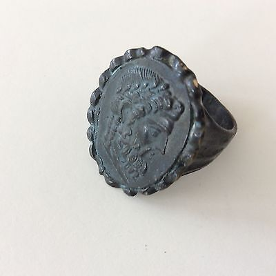 Old Roman Ring Signet Size 15