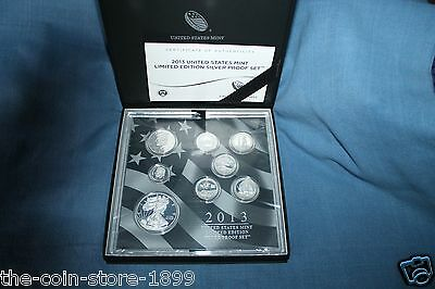 2013 United States Mint Limited Edition Silver Silber USA PP Proof Set LS2 RAR!!