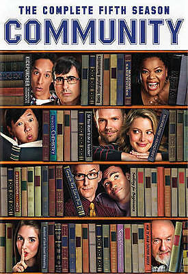 Community: The Complete Fifth Season 5 Five (DVD, 2014, 2-Disc Set) - NEW!!