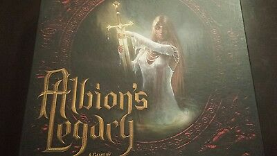 Albion's Legacy Board Game Unpunched 2nd Edition