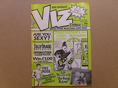 Viz Comic #13 - August 1985 - Vf (8.0) - Rare Authentic Original Copy