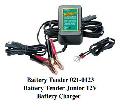 NEW Battery Tender 021-0123 Battery Tender Junior 12V Battery Charger Maintainer
