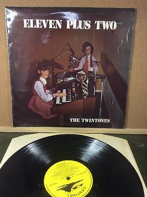 Vinyl LP - THE TWINTONES - Eleven plus two Kay and Gary Tucket NANPEAN cornwall