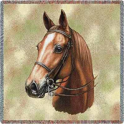 Lap Square Blanket - American Saddlebred by Robert May 1741  IN STOCK