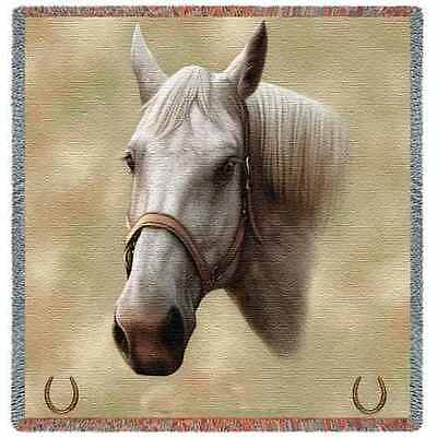 Lap Square Blanket - Quarter Horse by Robert May 1734