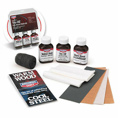 Birchwood Casey Gun Finishing Complete Tru-Oil® Gun Stock Finish Kit 23801