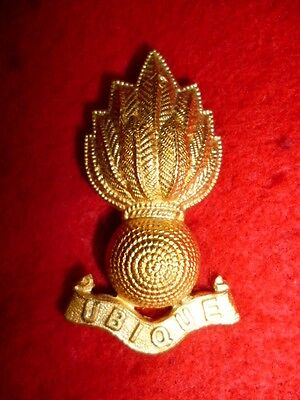 The Royal Engineers Officer's Gilt Collar Badge - British Army