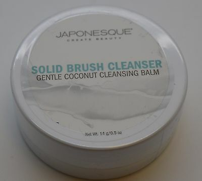 2X JAPONESQUE Solid Brush Cleanser, .5 Fl. Oz. IPSY LOT OF 2