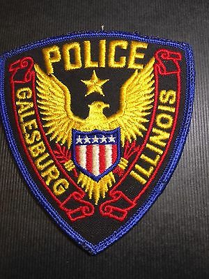Galesburg Illinois Police  Shoulder Patch
