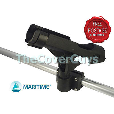 Boat and Kayak Rod Holder with Rail and flush Mounts FREE Postage