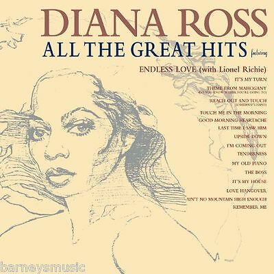 Diana Ross ( New Sealed Cd ) All The Great Hits / Very Best Of The Greatest Hits