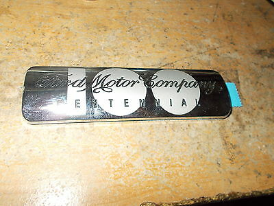 NOS 2003 FORD MUSTANG GT40 FORD GT F150 TAURUS 100th CENTENNIAL EMBLEM BADGE NEW