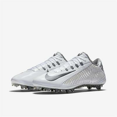 Nike Vapor Carbon 2014 2.0 LAX Td Lacrosse Football Cleats Various  White Silver