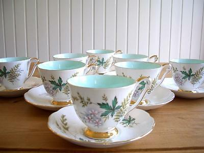 Queen Anne/Royal Adderley - Louise - 4 Cups & Saucers, choose 4 or 8 + others