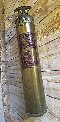 Vintage Fire Extinguisher General Quick Aid Safety Phlare w/ Wall Mount 95 HD