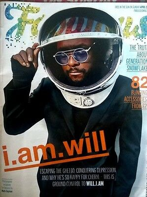 Fabulous Magazine 2 April 2017 : Will.i.am - I.am.will - Cover / Pics / Feature