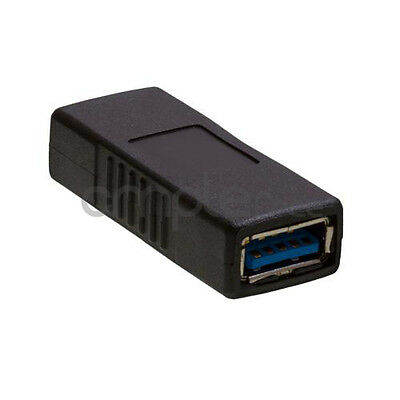 USB 3.0 Type A Female to Female Adapter Coupler Gender Changer Connector NEW