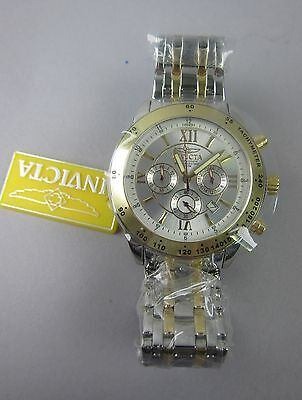Invicta Men's 5087 Chronograph Two-Tone Wristwatch NOS