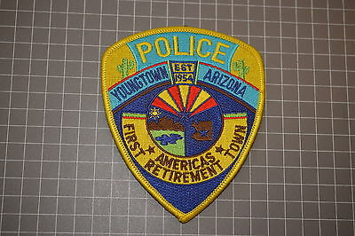 Youngtown Arizona Police Department Patch (B17)