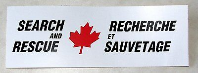Canadian - Search And Rescue Decal / Sticker