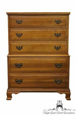 DAVIS CABINET Co. Solid Wood Burnished Cherry 37″ Chest on Chest