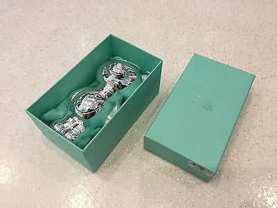 Twinkle Twinkle Silver Plated Baby Gift - Teddy Money Box Gift Box & Bag CG300