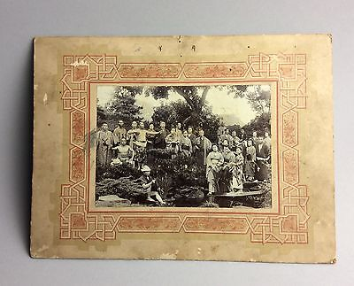 Japan . Group photo . Early 20 th c  I32