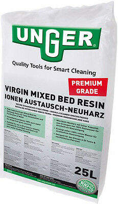 25L bag UNGER Premium Grade Virgin Mixed Bed DI Resin for Window Cleaning etc