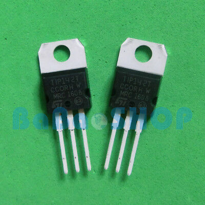 10/20/50pcs TIP142 TIP147 NPN PNP DARLINGTON TRANSISTORS TO-220 ST