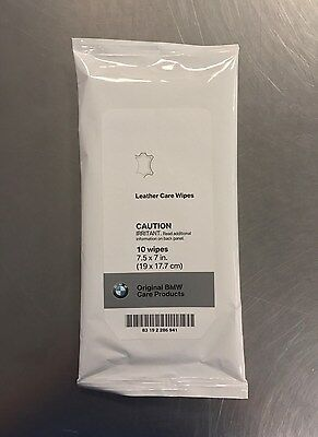 Original Bmw Care Products Leather Care Wipes