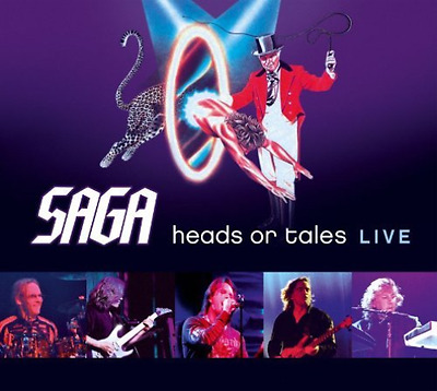 Saga-Heads Or Tales Live  CD NEW