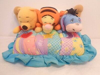 Winnie the Pooh Night Buddies Soother Musical Night Light Baby Crib Toy Plush