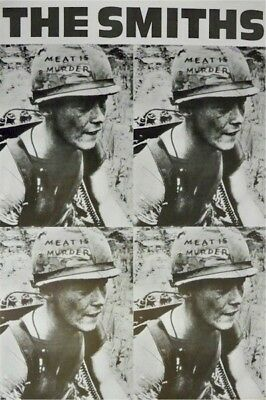 THE SMITHS ~ MEAT IS MURDER HELMETS 24x36 MUSIC POSTER Morrissey NEW/ROLLED!