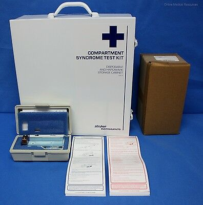 Stryker 295-1 Intra-Compartmental Pressure Monitor w/ Wall Cabinet Monitor Sets