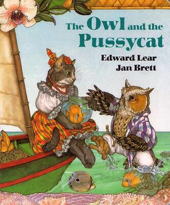 The Owl and the Pussycat by Edward Lear (English) Board Books Book Free Shipping