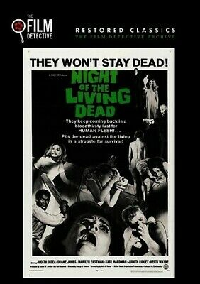 Night Of The Living Dead DVD 818522011950
